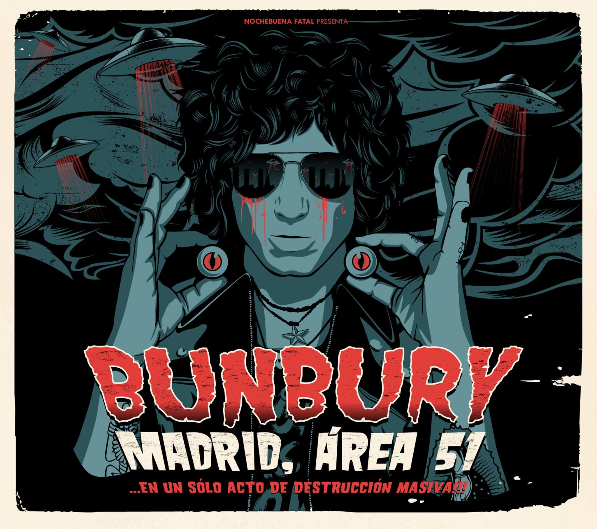 Bunbury Madrid Area 51