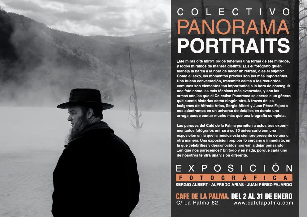 Expo Colectivo Panorama PORTRAITS