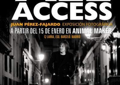 Expo individual Juan Pérez-Fajardo ALL ACCESS