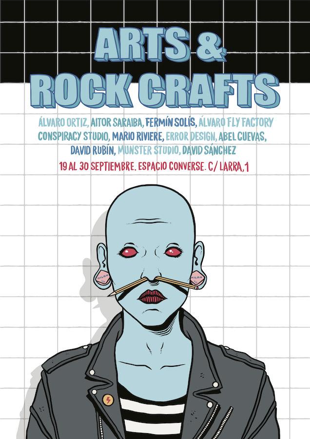 Exposición Colectiva ARTS & ROCK CRAFTS